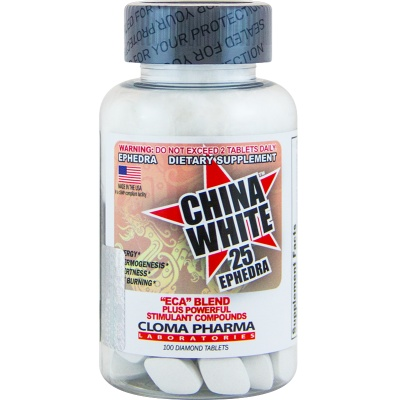 Жиросжигатель Cloma Pharma CHINA WHITE 25ephedra 100 cap